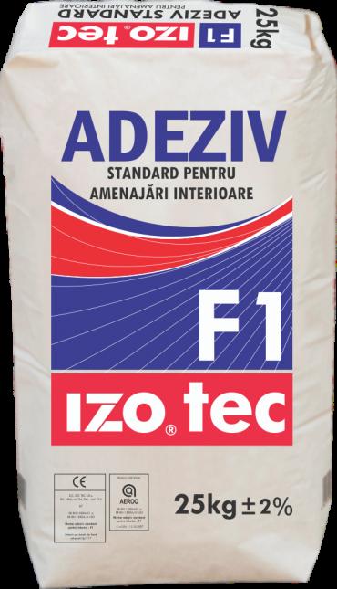 Mortar adeziv standard pentru interior – F1