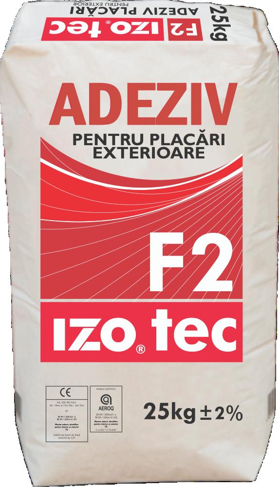 Mortar adeziv pentru interior și exterior – F2