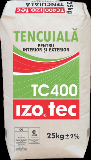 Mortar uscat pentru tencuială interioară și exterioară – TC400