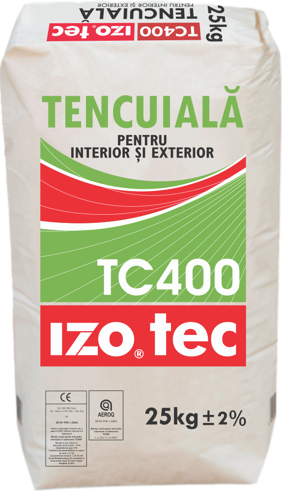 Dry Mortar For Inside And Outside Rendering – TC400