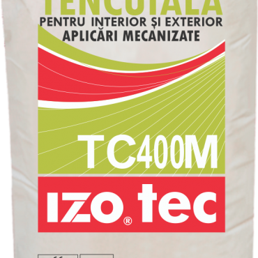 Dry Mortar for Outside and Inside Plaster for Mechanized Applications – TC400M